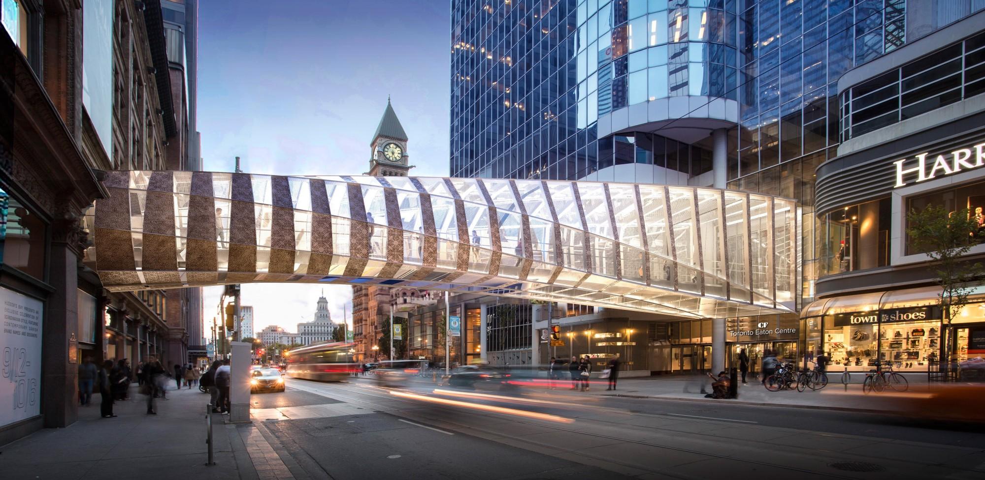 Fußgängerbrücke aus Messing und Glas   Glas   News/Produkte ...