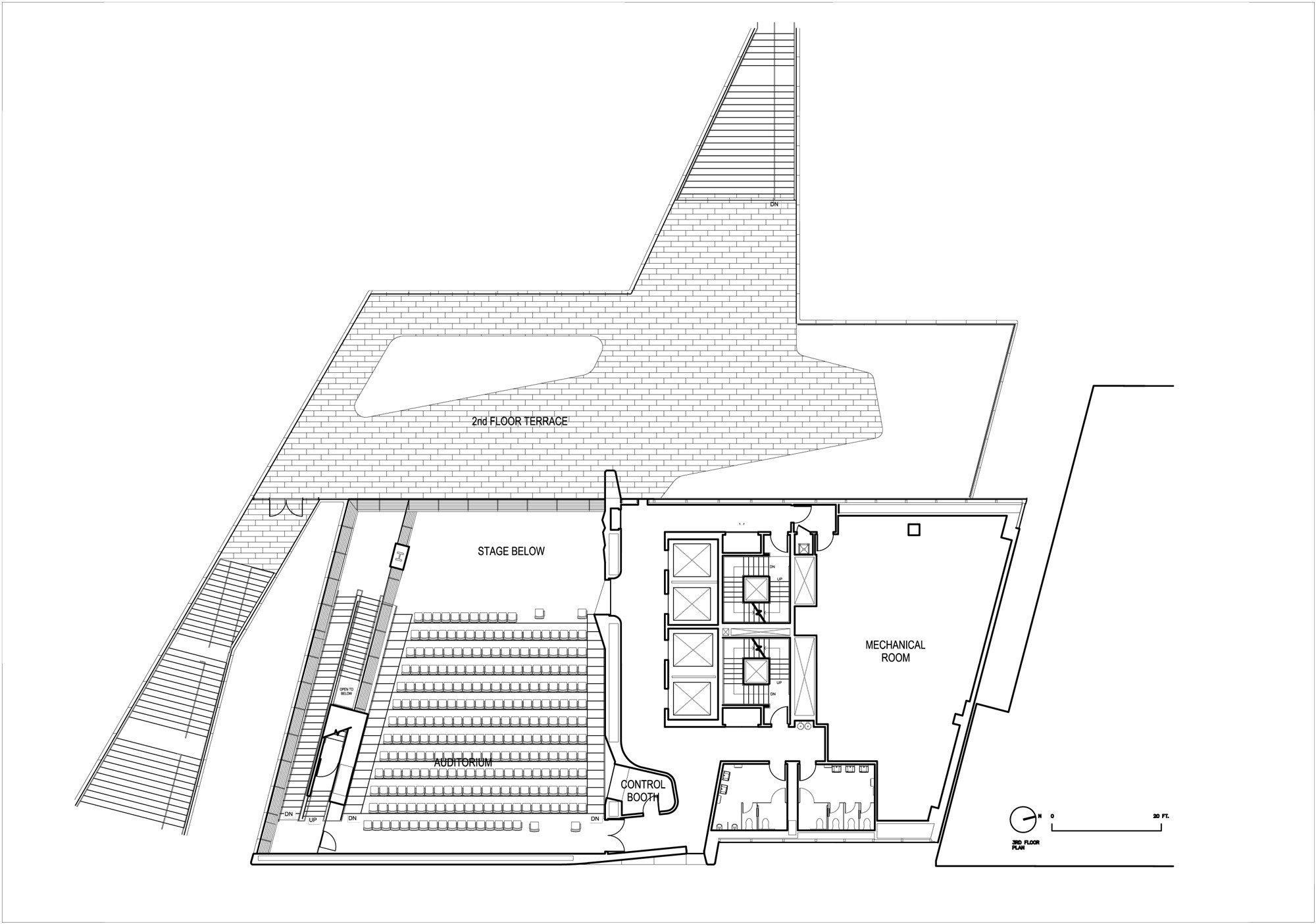 roy and diana vagelos education center in new york glas bildung baunetz wissen. Black Bedroom Furniture Sets. Home Design Ideas