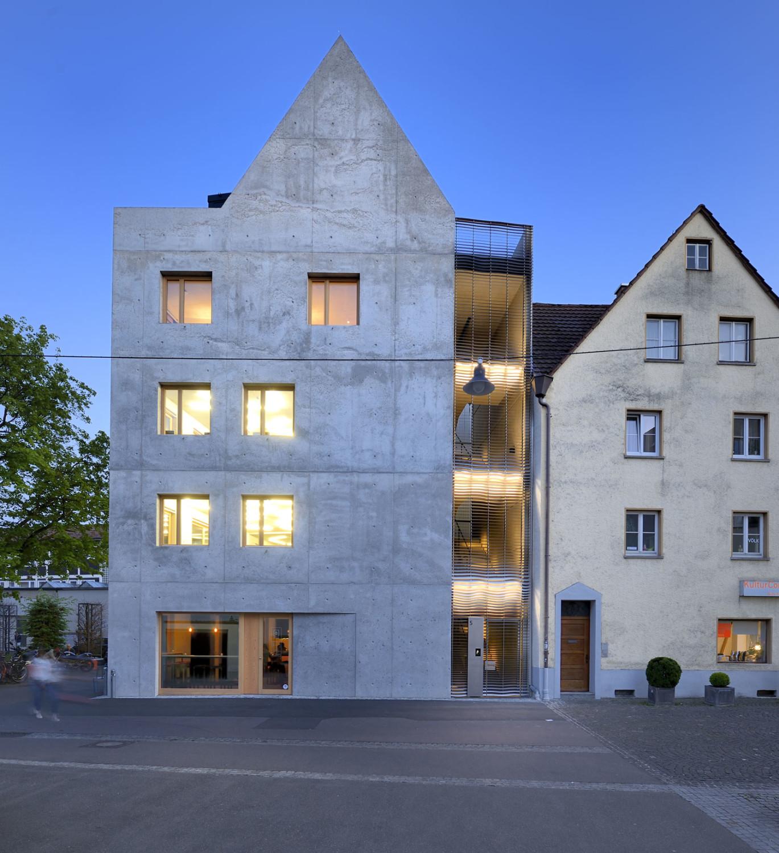 Architekten Ulm wohn und geschäftshaus k5 in ulm gerüste und schalungen büro