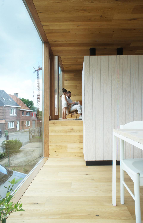 Ansprechend Windfang Hauseingang Geschlossen Referenz Von Die Beiden Ebenen Sind Offen Miteinander Verknüpft
