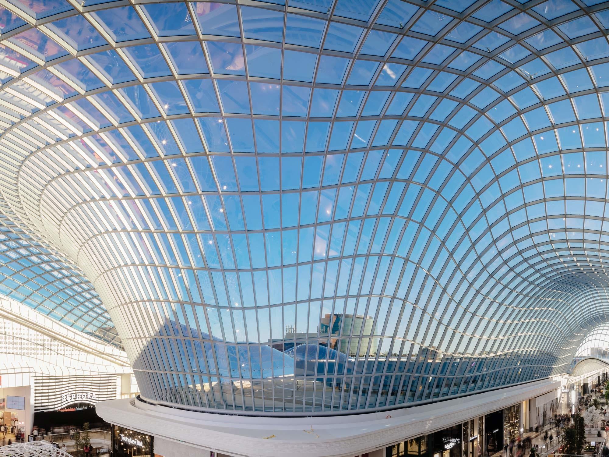 Chadstone Shopping Centre In Melbourne | Glas | Gewerbe/Industrie |  Baunetz_Wissen