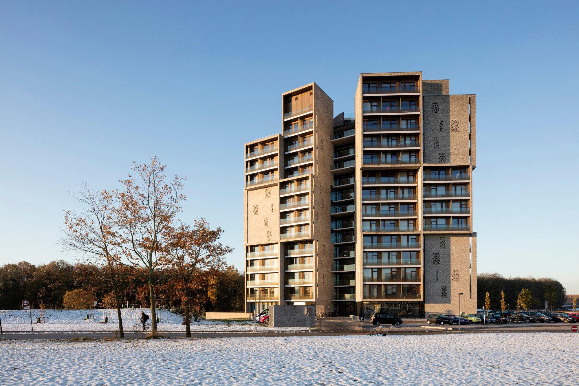 Studentenwohnheim Campus Kollegiet in Odense | Mauerwerk | Soziale Einrichtungen | Baunetz_Wissen