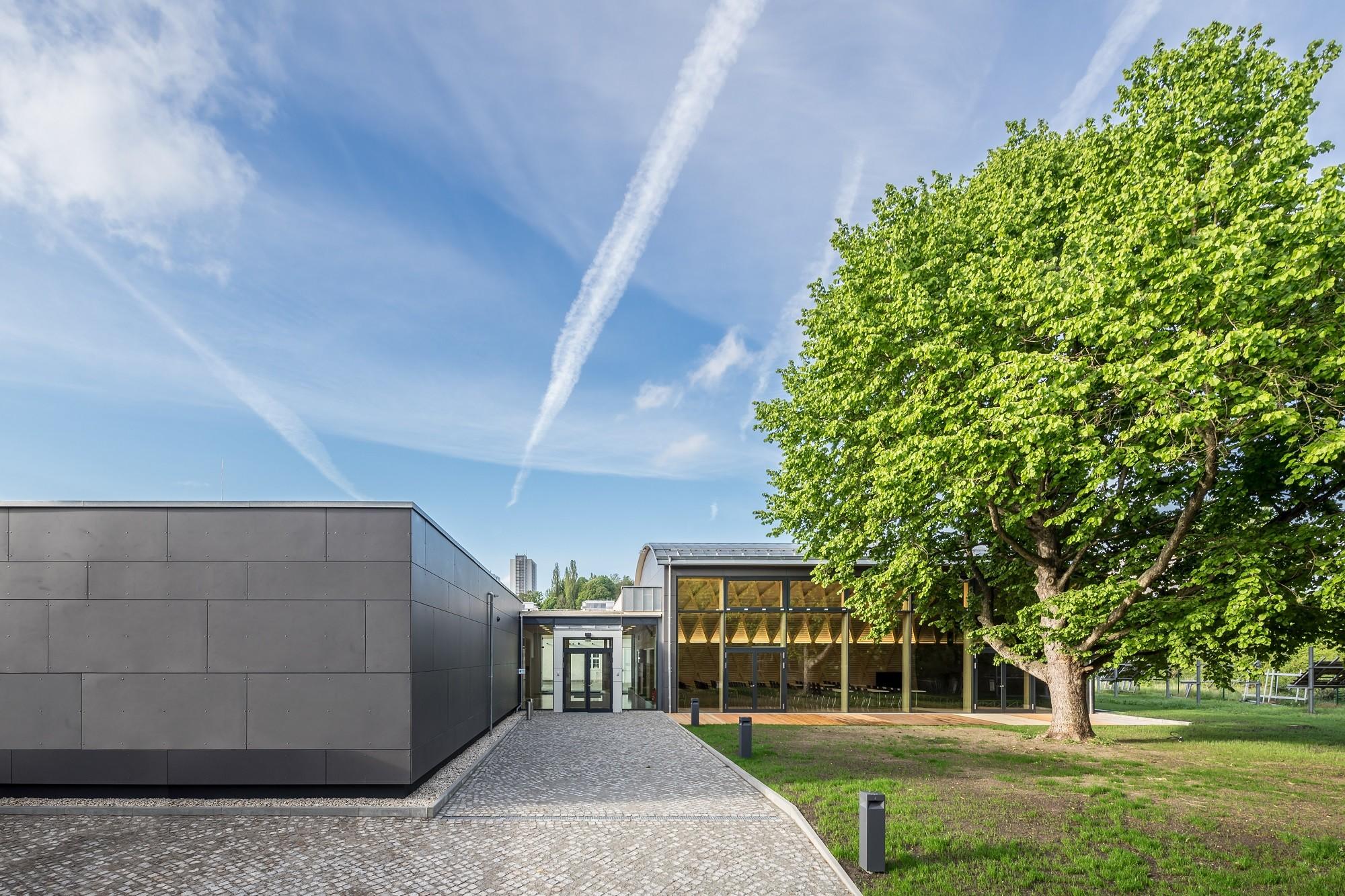 Konferenzzentrum Ihd In Dresden Nachhaltig Bauen Bildung