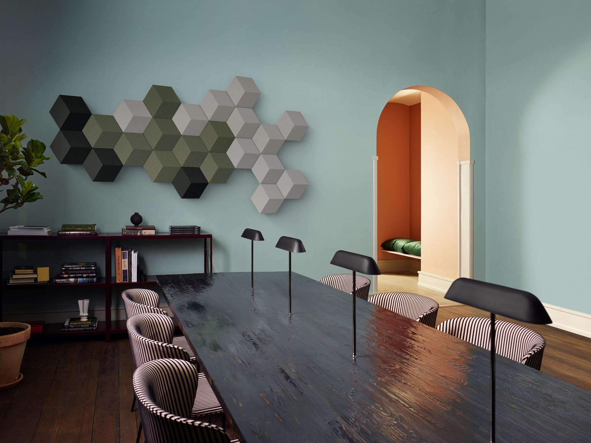 klangsystem f r die wand akustik news produkte baunetz wissen. Black Bedroom Furniture Sets. Home Design Ideas