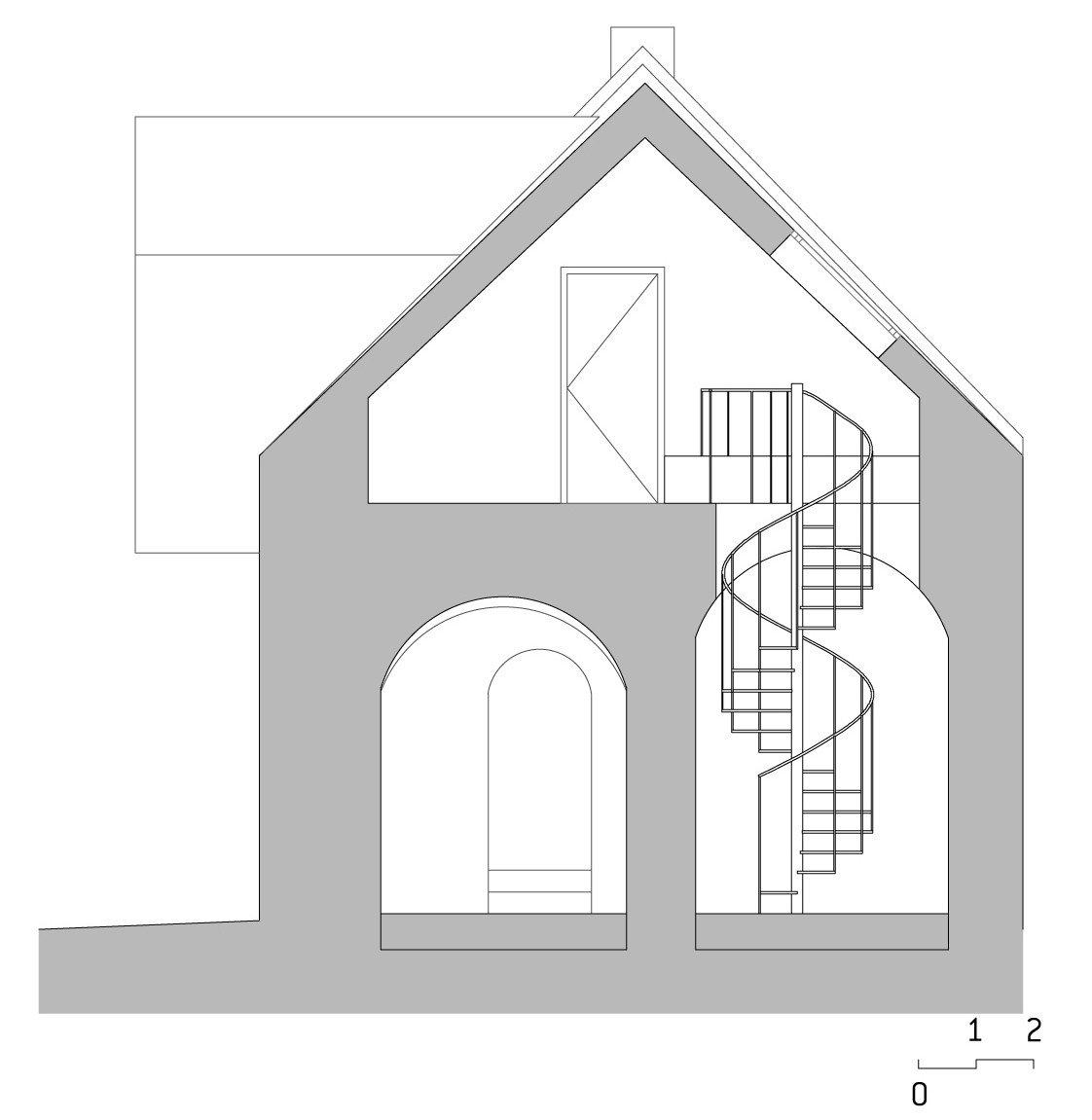 Modernisierung von Bauernhaus und Scheune M1 in Jois | Geneigtes ...