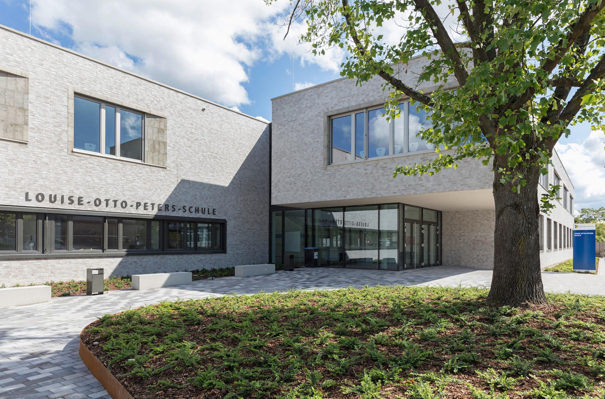Roth Architekten louise otto peters schule in hockenheim heizung kultur bildung baunetz wissen