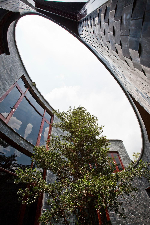 Stone House In Hanoi | Flachdach | Wohnen | Baunetz_Wissen