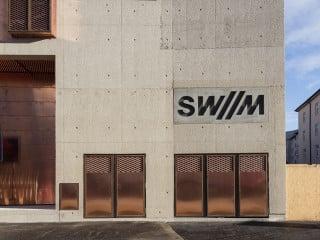 Das Umspannwerk von Hild und K Architekten versorgt den gesamten Münchner Stadtteil Schwabing mit Strom