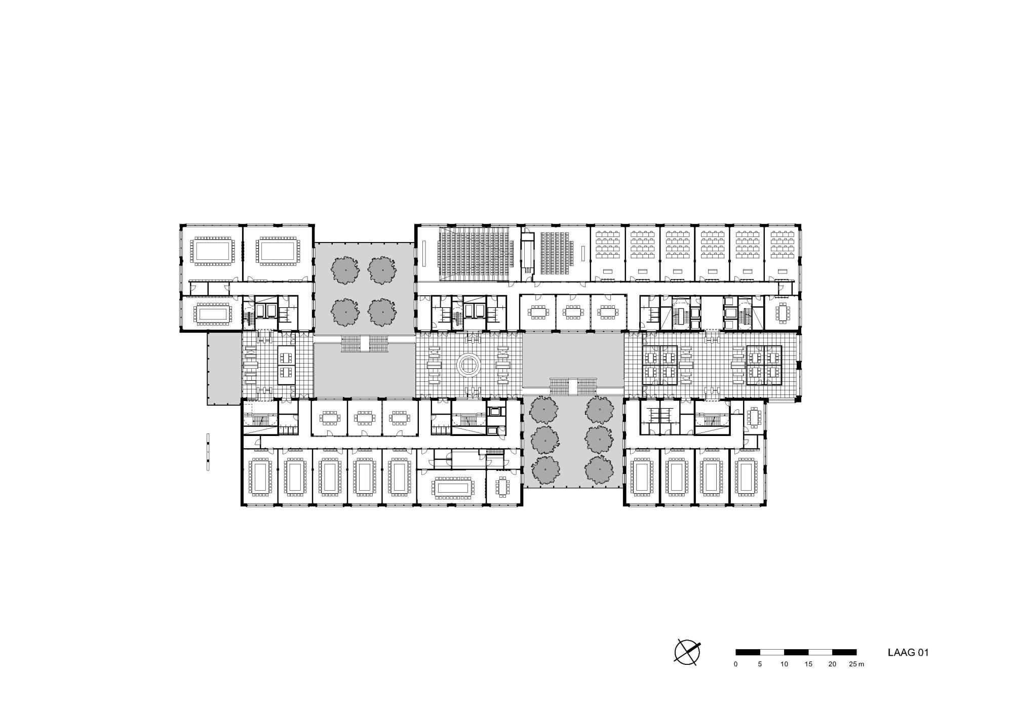 herman teirlinck geb ude in br ssel mauerwerk b ro verwaltung baunetz wissen. Black Bedroom Furniture Sets. Home Design Ideas