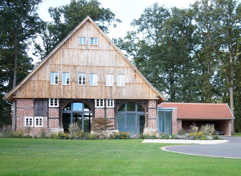 Umbau eines schafstalls zum wohnhaus in g tersloh gesund for Wohnhaus bauen
