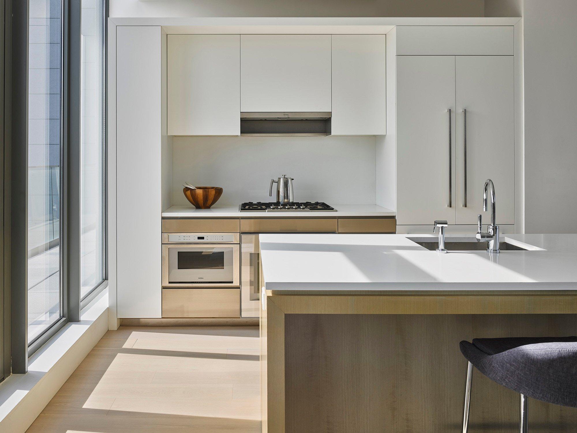 wohngeb ude 251 first street in new york flachdach wohnen baunetz wissen. Black Bedroom Furniture Sets. Home Design Ideas