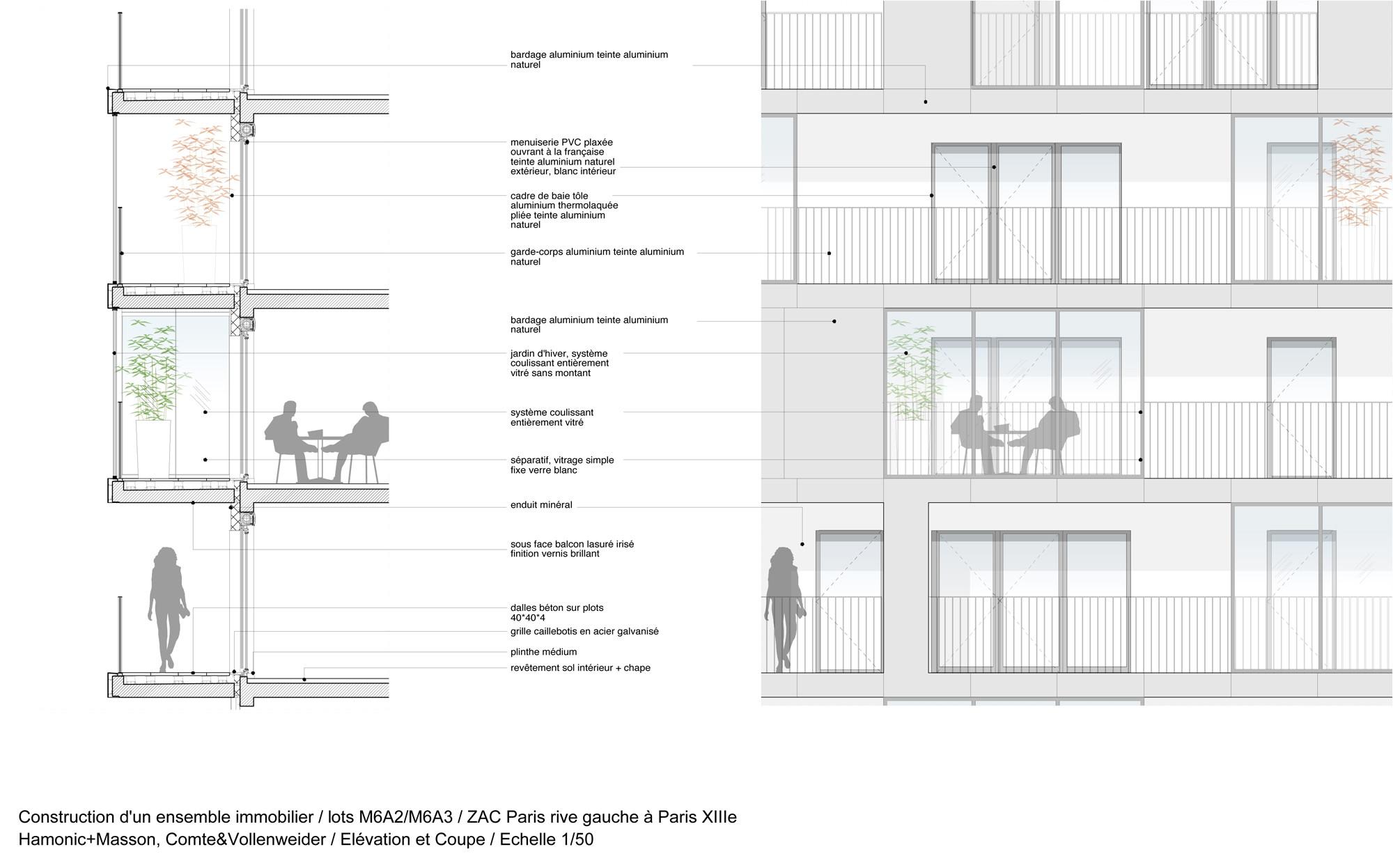 Wohnhochhaus Home in Paris | Flachdach | Wohnen | Baunetz_Wissen