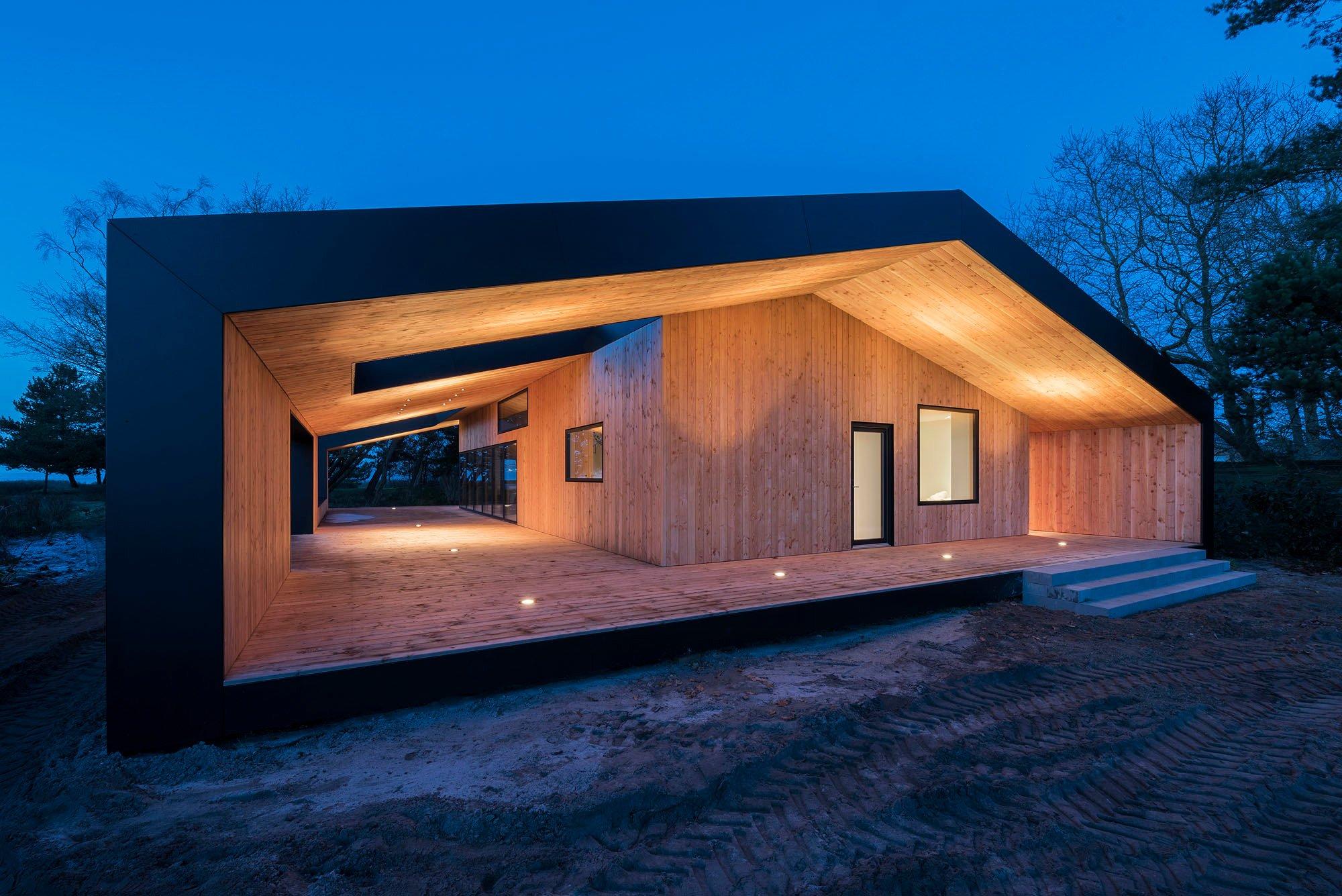 Treldehuset in Fredericia   Schiefer   Wohnen/EFH   Baunetz_Wissen