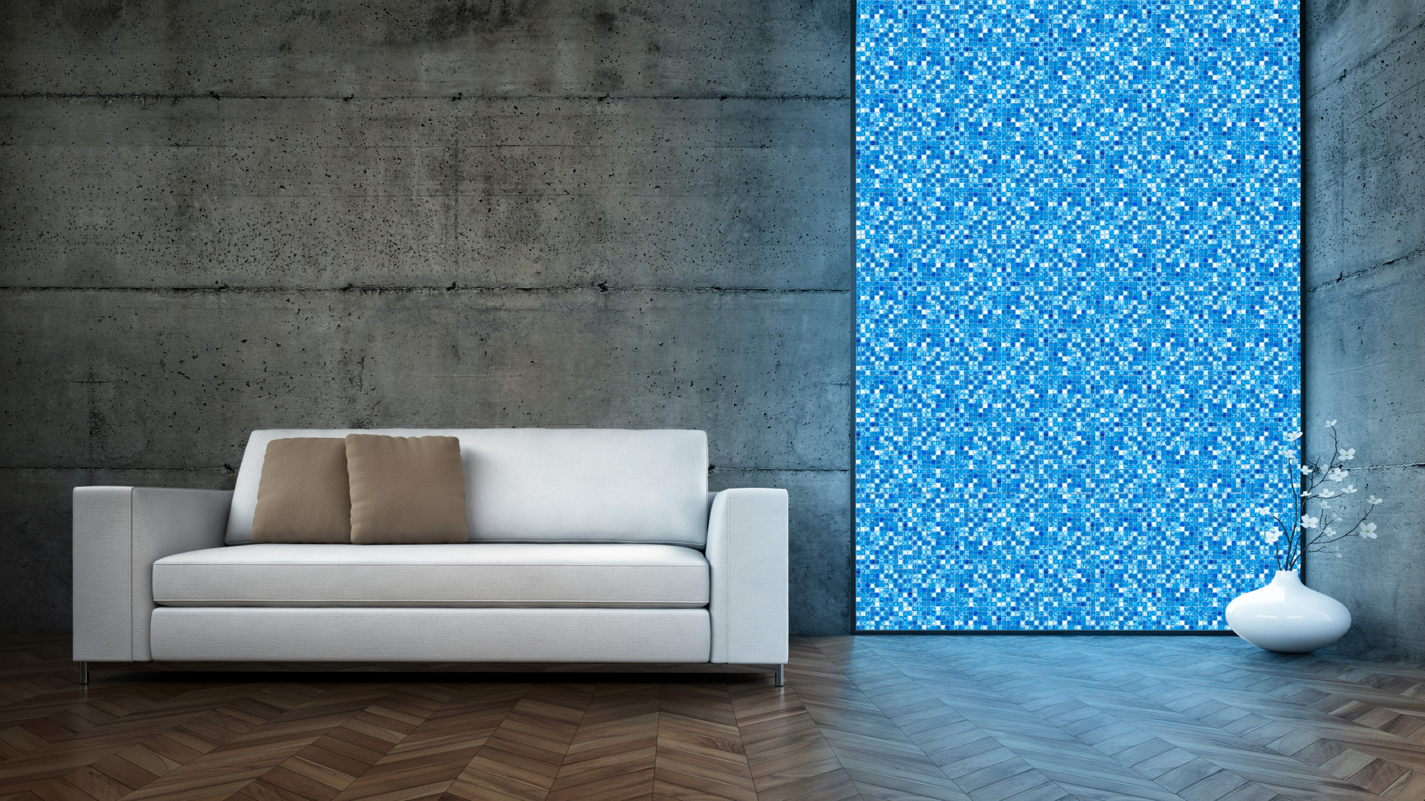 Vernetztes, leuchtendes Glasmosaik | Elektro | News/Produkte ...