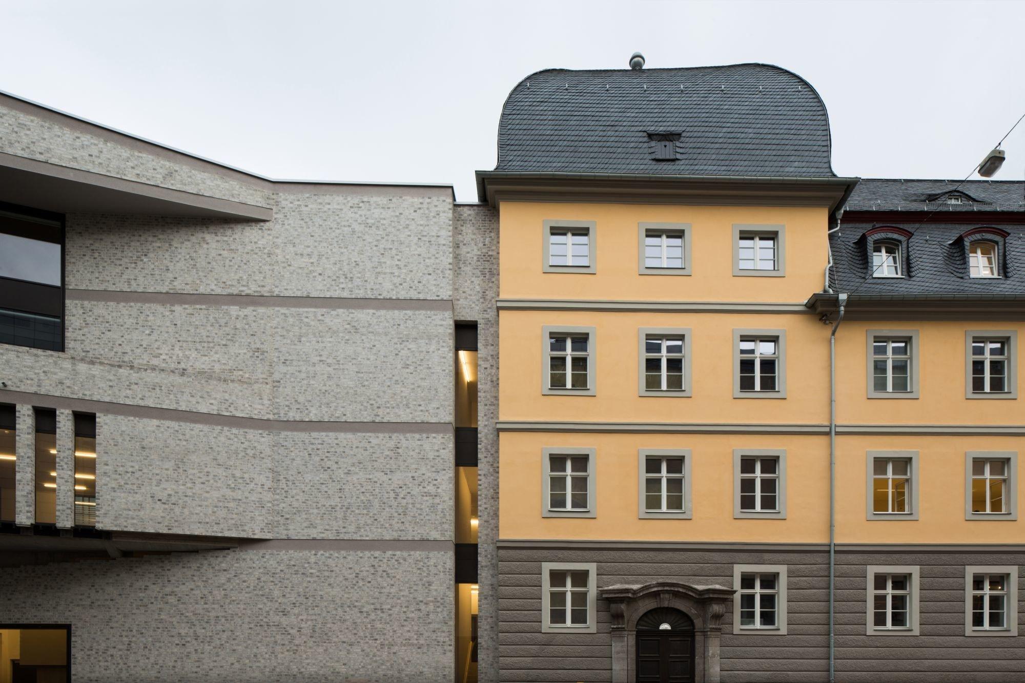 Haus der Bildung in Bonn Mauerwerk