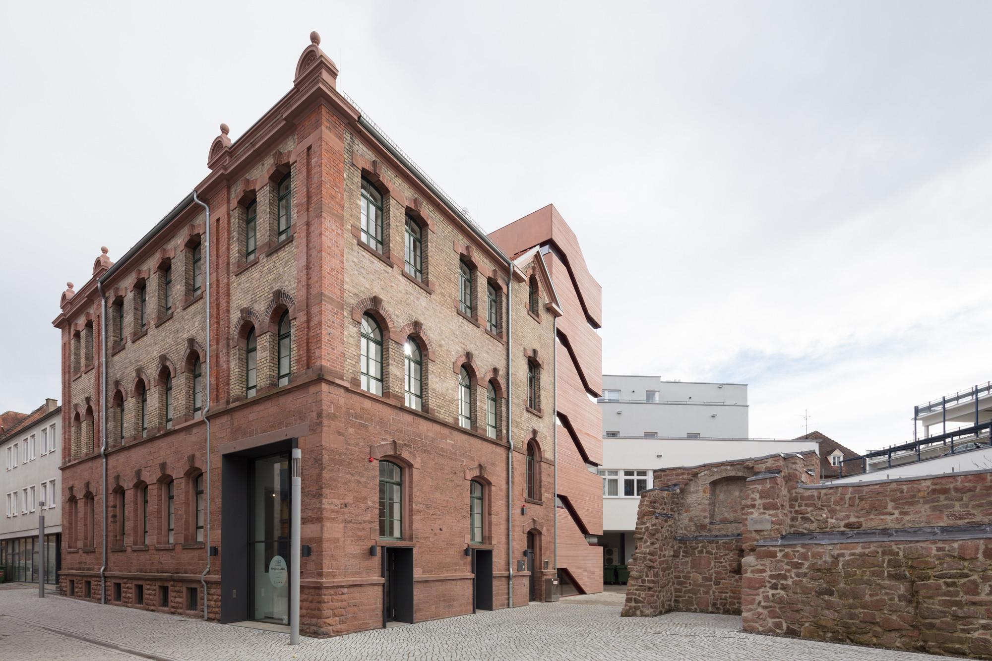 stadtmuseum tonofenfabrik in lahr beton kultur baunetz wissen. Black Bedroom Furniture Sets. Home Design Ideas