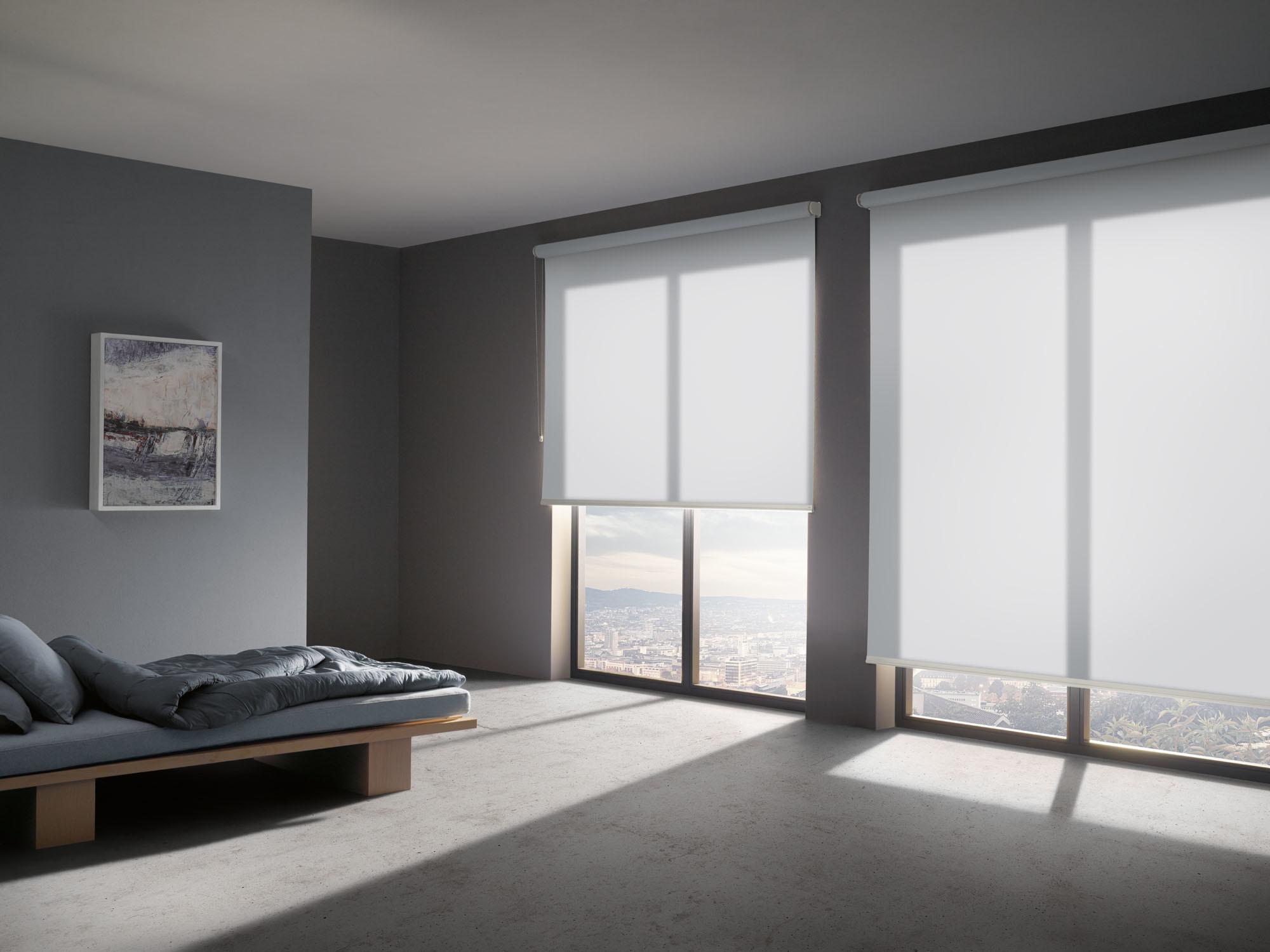 sonnenschutztextil aus recyceltem kunststoff. Black Bedroom Furniture Sets. Home Design Ideas