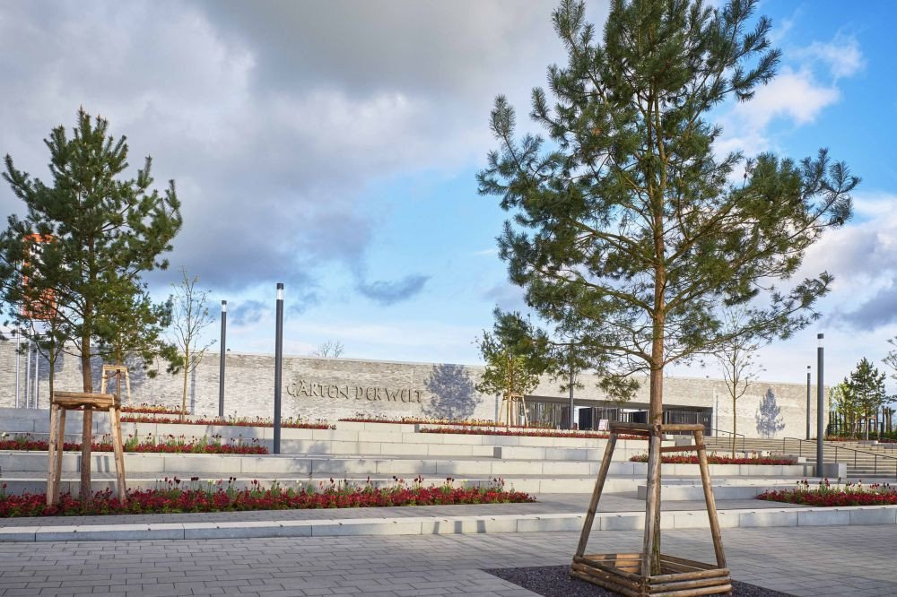 Besucherzentrum Garten Der Welt In Berlin Nachhaltig Bauen Kultur Freizeit Baunetz Wissen