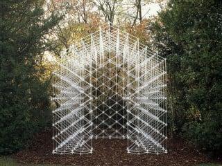 Für einen Privatgarten im baden-württembergischen Leonberg schufen Kawahara Krause Architects aus Hamburg den sogenannten Garden Folly