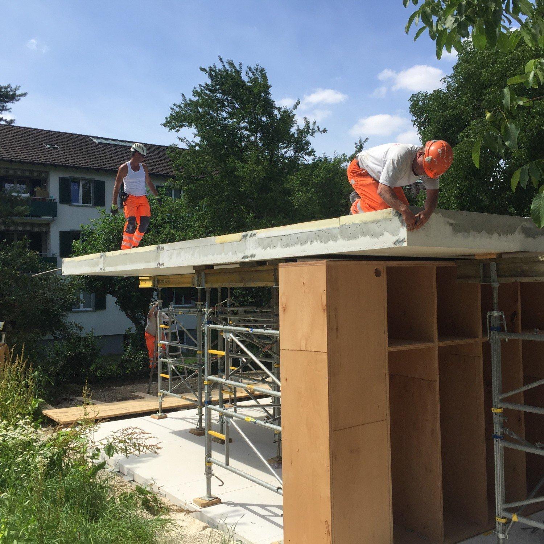 Movable House In Riehen Flachdach Wohnen Baunetz Wissen