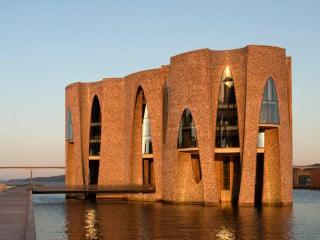 Hauptpreis Monolithische Bauweise: Stadtbibliothek, Rottenburg am Neckar von Harris + Kurrle, Stuttgart