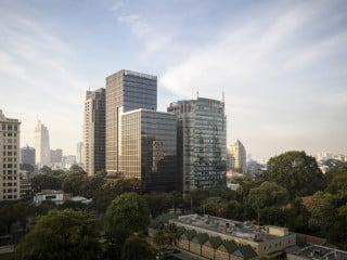Das Deutsche Haus in Ho-Chi-Minh-Stadt wurde nach Plänen der Architekten von Gerkan, Marg und Partner (gmp) realisiert.