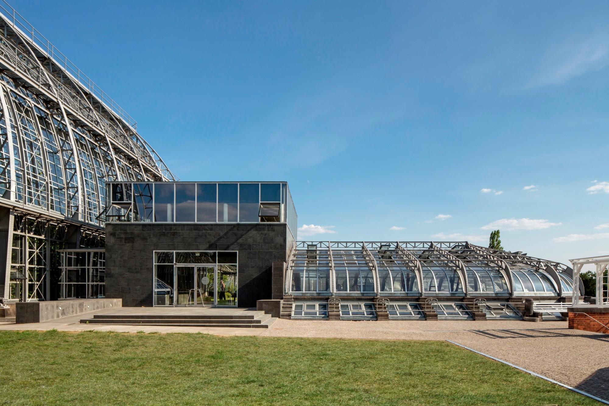 Victoriahaus Im Botanischen Garten Berlin Heizung Sonderbauten
