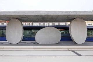 Die Haltestelle ist einer der Endpunkte der grenzübergreifenden Trambahnlinie, die Straßburg und Kehl verbindet.