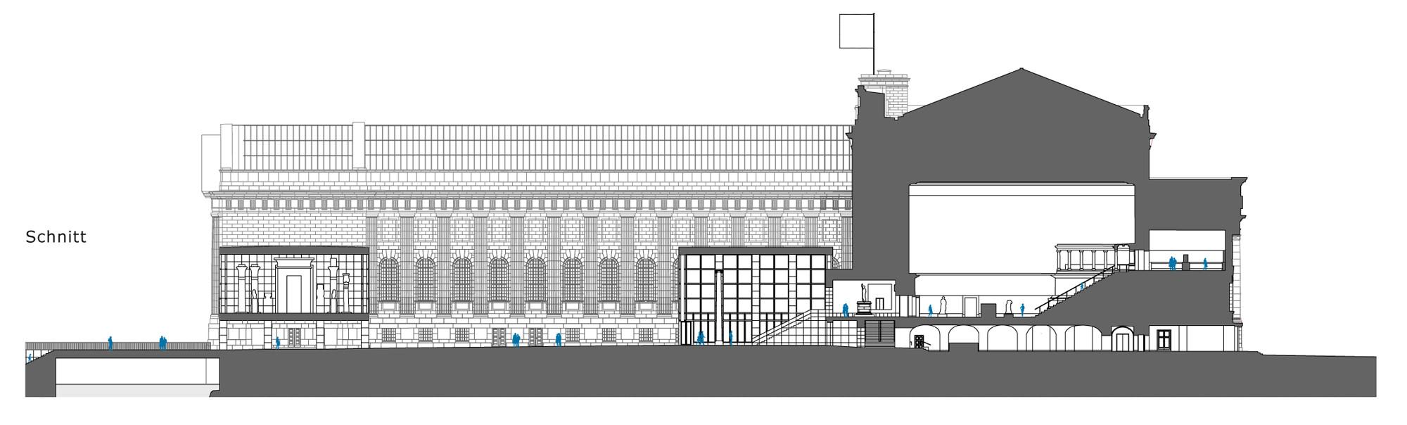 Sanierung Pergamonmuseum In Berlin Geruste Und Schalungen Bildung Kultur Baunetz Wissen