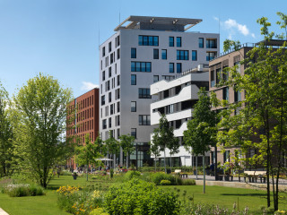 In Heilbronn wurde der vorerst höchste Holzbau Deutschlands errichtet.