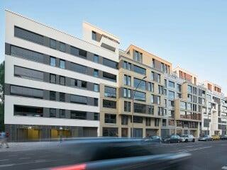 Die Wohnanlage 'The Garden' in Berlin-Mitte ist nach Plänen des Büros Eike Becker Architekten entstanden.