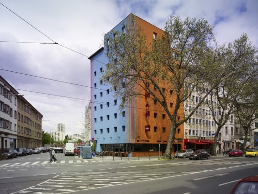 25hours hotel in frankfurt a m boden hotel gastronomie baunetz wissen. Black Bedroom Furniture Sets. Home Design Ideas