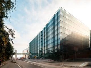Mit dem Biomedicum erhält das bekannte Karolinska Institut auf dem Campus in Solna eine moderne Forschungseinrichtung. Entworfen wurde der Neubau vom dänischen Architekturbüro C.F. Møller.
