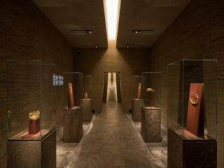 Das 'Goldkammer' genannte Museum, ganz dem Edelmetall gewidmet, befindet sich im Frankfurter Westend.