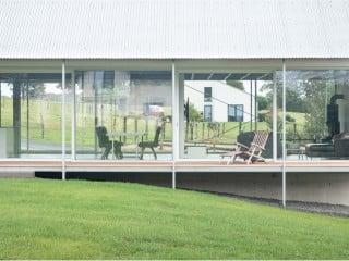 Der Entwurf des Einfamilienhauses von Aretz Dürr Architektur folgte der Typologie des traditionellen Langhauses.
