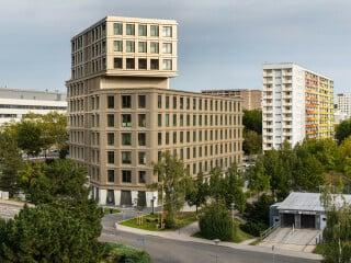 Das K1 von Kister Scheithauer Gross Architekten und Stadtplaner ist das erste Hochhaus für Jena seit der Wende.