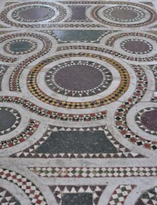 terrazzoboden in der villa san michele des arztes axel munthe anfang 20 jahrhunderts anacapri auf insel capri errichtet selbst herstellen