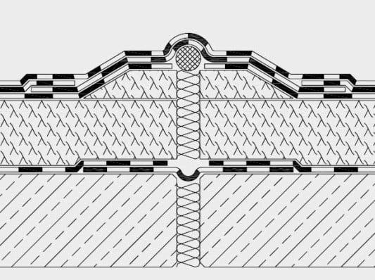 bewegungsfuge flachdach glossar baunetz wissen. Black Bedroom Furniture Sets. Home Design Ideas