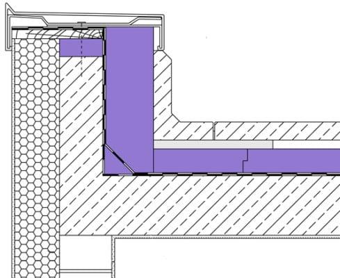 Umkehrdach aufbau flachdach