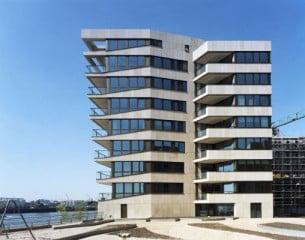Wohngebäude in der Hamburger HafenCity