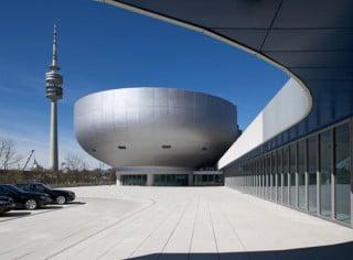 Außenansicht des BMW Museums