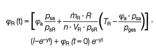 Gleichung Zur Berechnung Der Relativen Raumluftfeuchte