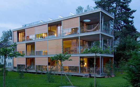 mehrfamilienhaus in bern ch nachhaltig bauen wohnen baunetz wissen. Black Bedroom Furniture Sets. Home Design Ideas