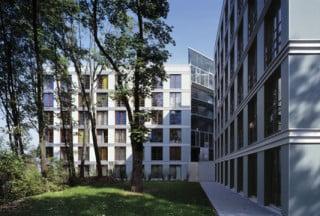 Neue Fassade mit Faserzementtafeln