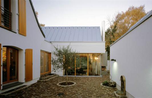 erweiterung eines 50er jahre hauses in d sseldorf altbau wohnen baunetz wissen. Black Bedroom Furniture Sets. Home Design Ideas