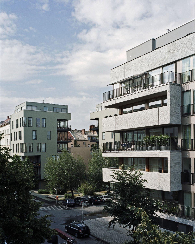 mehrfamilienhaus in berlin beton wohnen mfh baunetz