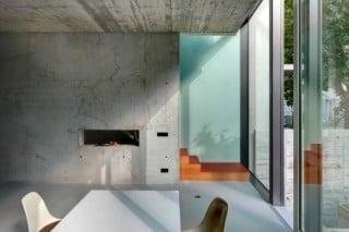 Wohn- und Essbereich an der verglasten Gartenseite