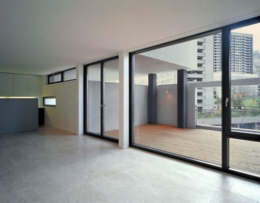 wohn berbauung in z rich ch beton wohnen mfh baunetz. Black Bedroom Furniture Sets. Home Design Ideas