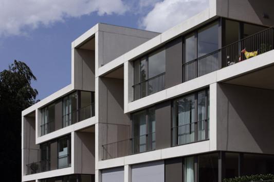 wohnbebauung pile up in rheinfelden beton wohnen mfh baunetz wissen. Black Bedroom Furniture Sets. Home Design Ideas