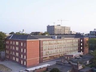 Umnutzung einer Kaserne in Düsseldorf